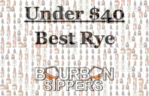 Rye Whiskey Best Under $40 Bourbon Sippers