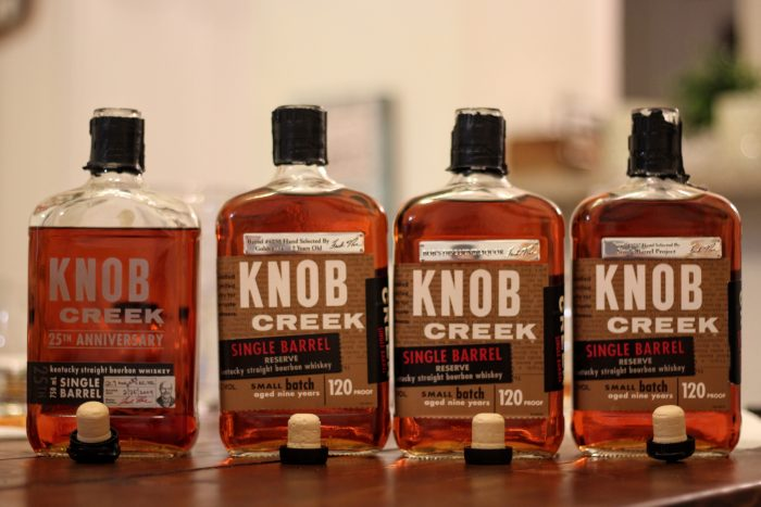 Knob Creek 25th Anniversary compared to Knob Creek Private Barrel Selection by Bourbon Sippers