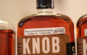 Knob Creek Single Barrel Project Private Barrel Selection by Golden Ox Liquor