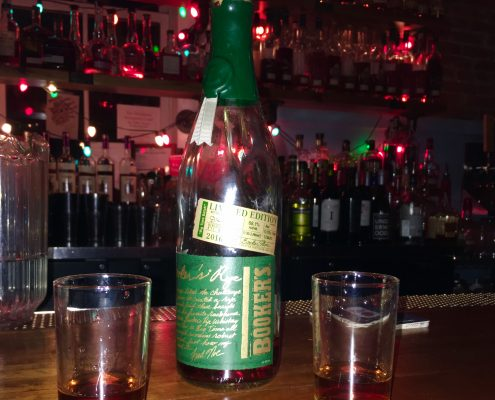Booker's Rye Whiskey Bourbon Sippers Review at Silver Dollar Bar