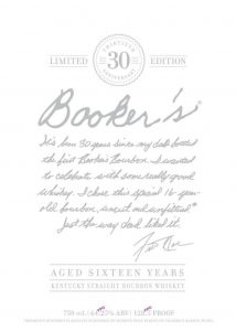 Booker's 30th Anniversary