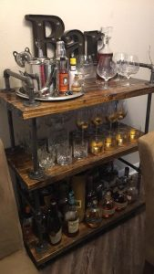 Home Bourbon Bar - Bourbon Sippers