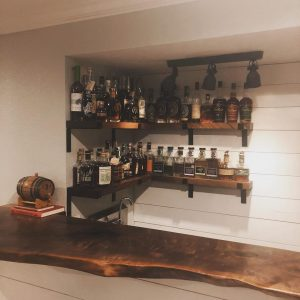 Home Bourbon Bar