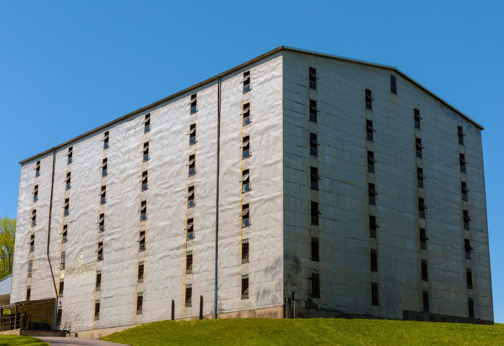 Holladay Distillery Warehouse